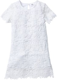 Robe en dentelle, bpc bonprix collection, blanc