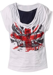 T-shirt, bpc bonprix collection, blanc