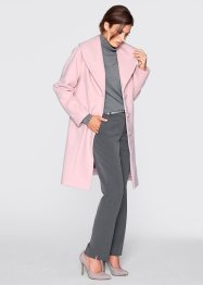 Manteau en laine, bpc selection premium, rose perlé