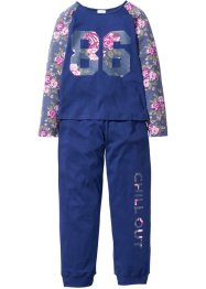 Pyjama (Ens. 2 pces.), bpc bonprix collection, bleu nuit