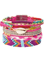 Bracelet Boho, bpc bonprix collection, fuchsia