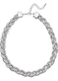 Collier tressé, bpc bonprix collection, argenté