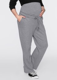 Pantalon de jogging de grossesse, bpc bonprix collection, gris chiné
