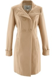 Manteau, bpc bonprix collection, cappuccino