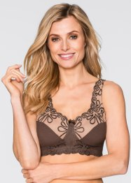 Soutien-gorge de maintien sans armatures, bpc selection, marron/nude