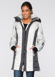 Manteau outdoor, bpc bonprix collection, argent