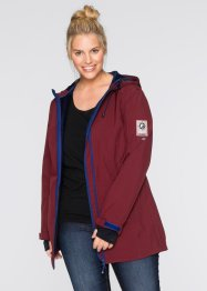 Veste longue fonctionnelle Softshell, bpc bonprix collection, rouge érable