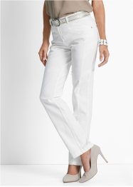 Pantalon extensible confort, bpc selection, blanc
