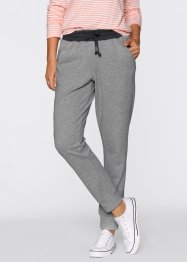 Pantalon sweat, bpc bonprix collection, gris clair chiné