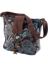 Sacoche Katinka, bpc bonprix collection, marron/turquoise