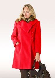Manteau, bpc bonprix collection, fraise