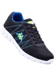Tennis Smooth Foam, Kappa, noir/bleu
