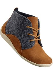 Bottines confortables à lacets, bpc selection, camel/anthracite