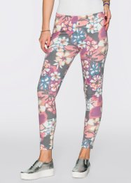 Legging, RAINBOW, rose imprimé