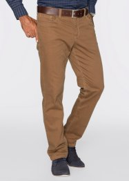 Pantalon en twill extensible thermo Regular Fit, bpc selection, cognac