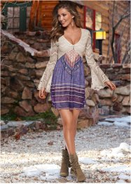 Robe, BODYFLIRT boutique, violet/beige