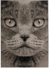 Tapis Chat, bpc living, gris