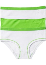 Shorties, bpc bonprix collection, blanc/vert anis