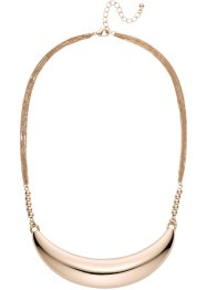 Collier demi-lune, bpc bonprix collection, doré