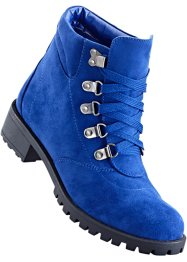 Bottines à lacets, bpc bonprix collection, bleu