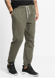 Pantalon de jogging Slim Fit, RAINBOW, olive