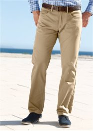 Pantalon 5 poches Regular Fit, droit, bpc bonprix collection, beige