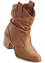 Bottines unies, bpc bonprix collection, camel