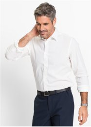 Chemise extensible Slim Fit, bpc selection, blanc