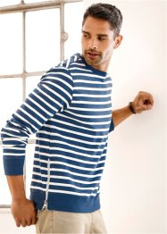 Sweat-shirt Slim Fit, RAINBOW, bleu rayé