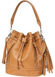 Sac boule, bpc bonprix collection, cognac
