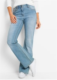 Jean extensible bootcut, bpc bonprix collection, medium bleu bleached