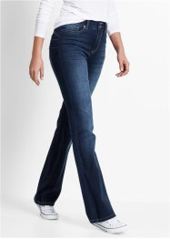 Jean push-up, bootcut, bpc bonprix collection, dark denim