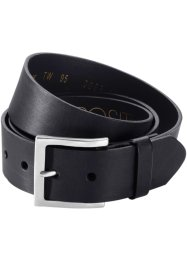 Ceinture en cuir Phil, bpc bonprix collection, noir