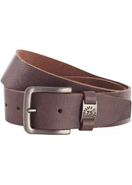 Ceinture en cuir Petersburg, bpc bonprix collection, marron