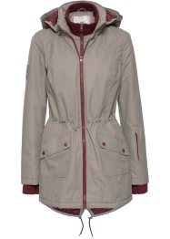 Manteau outdoor fonctionnel style 2en1, bpc bonprix collection, taupe