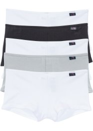 Lot de 5 shorties, bpc bonprix collection, noir/blanc/gris
