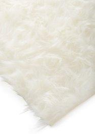 Tapis synthétique imitation peau de mouton, longues mèches, bpc living bonprix collection