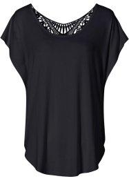 T-shirt à empiècement crochet, BODYFLIRT