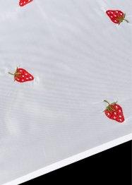 Brise-bise avec fraises brodées, bpc living bonprix collection