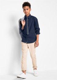 Chemise manches longues avec cravate, Slim Fit (Ens. 2 pces.), bpc bonprix collection