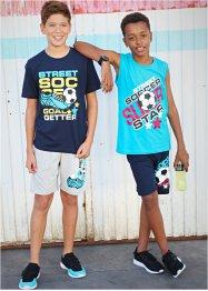 T-shirt + débardeur + bermudas garçon (Ens. 4 pces.), bpc bonprix collection