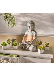 Bouddha avec photophore, bpc living bonprix collection