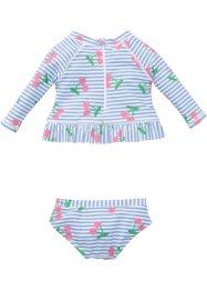 T-shirt de bain bébé + maillot de bain anti-UV fille (Ens. 2 pces.), bpc bonprix collection