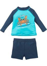 T-shirt de bain bébé + short de bain anti-UV garçon (Ens. 2 pces.), bpc bonprix collection