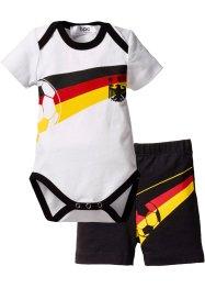 Tenue de foot pour bébé (Ens. 2 pces.) coton bio, bpc bonprix collection