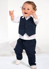 Chemise bébé + veston + pantalon (Ens. 3 pces.), bpc bonprix collection