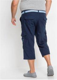 Pantalon 3/4 avec ceinture Loose Fit, bpc bonprix collection