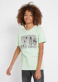 T-shirt col en V, bpc bonprix collection