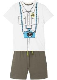 T-shirt et bermuda (Ens. 2 pces.), bpc bonprix collection