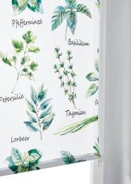 Store enrouleur brise-vue motifs herbes aromatiques, bpc living bonprix collection